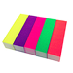 Fluorescent Sanding Block 5 colour pack
