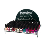 Black Wire Rack Nail Polish