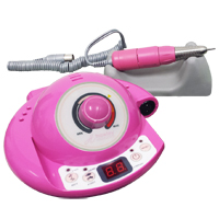 Space Drill Pink with foot pedal
