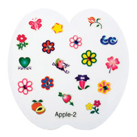Nail Jewellery - Large Apple 2