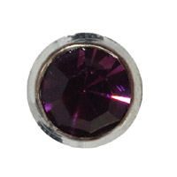 Toe Ring Round - Violet