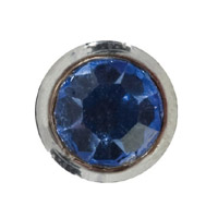 Toe Ring Round - Light Sapphire