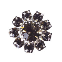 Toe Ring Flower - Crystal