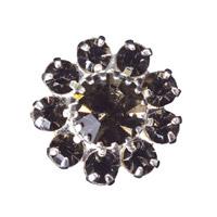 Toe Ring Flower - Crystal