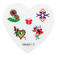 Nail Jewellery Small Heart 1