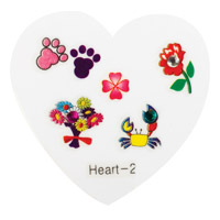 Nail Jewellery Small Heart 2