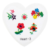 Nail Jewellery Small Heart 3