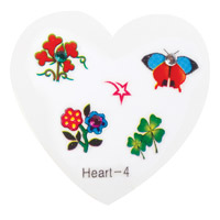 Nail Jewellery Small Heart 4