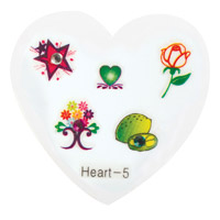 Nail Jewellery Small Heart 5