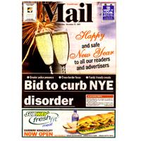 Tweed Mail Dec 27th 2007